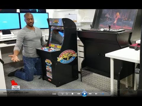 1UP Arcade Cabinet Video Review - Street Fighter (2018) Mp3