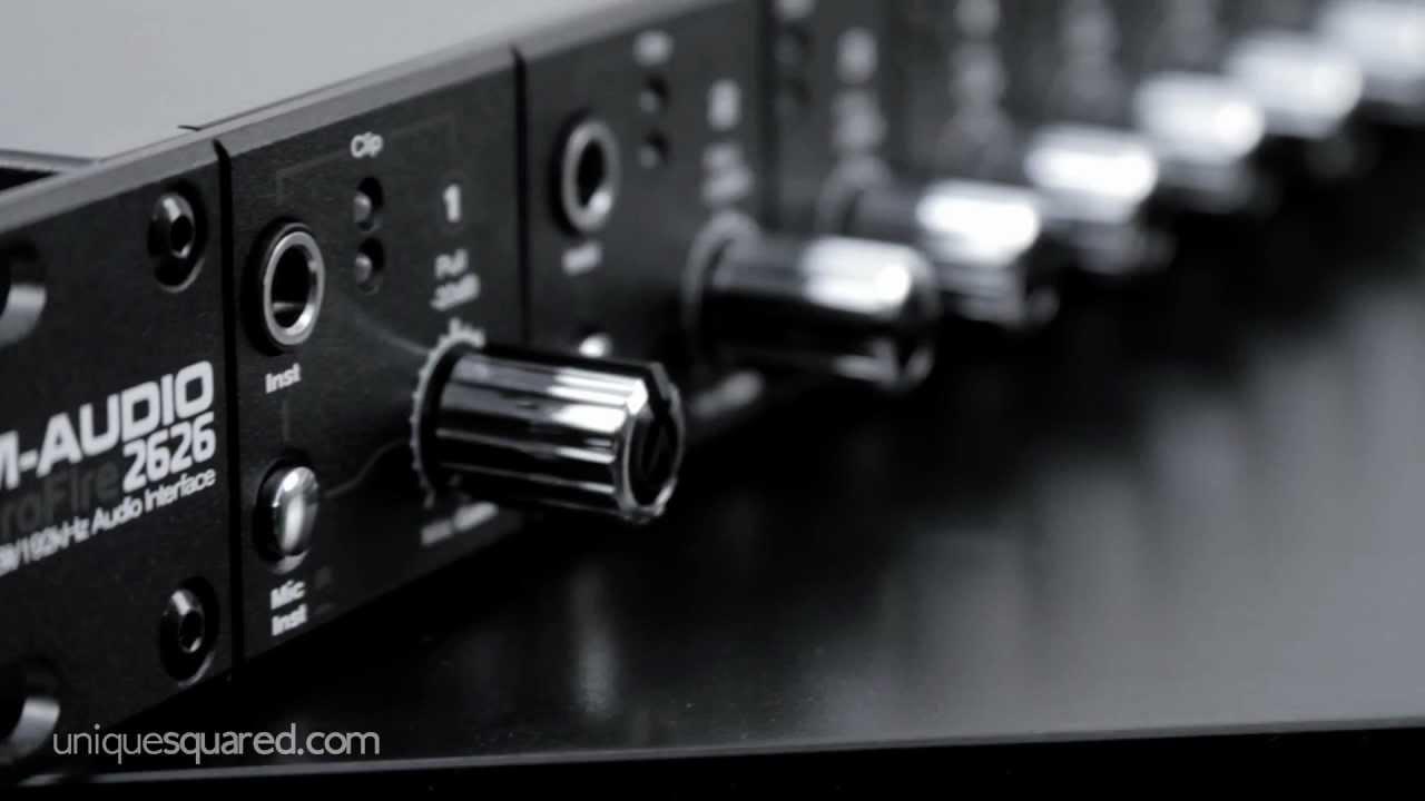 unique perspective m audio profire 2626 youtube. Black Bedroom Furniture Sets. Home Design Ideas