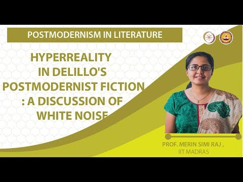 Hyperreality In Delillo's Postmodernist Fiction : A Discussion Of White Noise