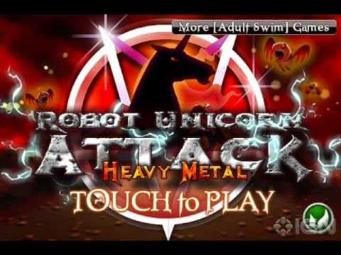 Robot unicorn attack heavy metal ( song download )
