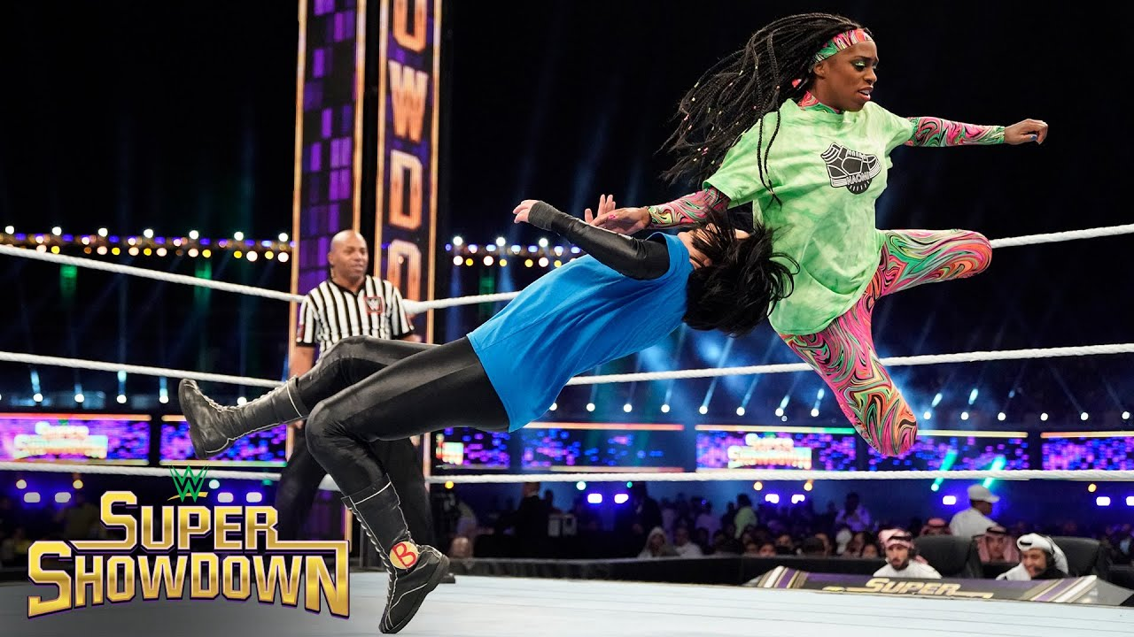Bayley and Naomi make history: WWE Super ShowDown 2020 (WWE Network Exclusive)