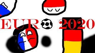 Euro 2020 in Countryballs (not real) Part 1: The Groups