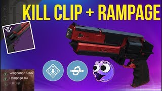 INSANE KILL CLIP+RAMPAGE HAND CANNON! KINDLED ORCHID - DESTINY 2 BLACK ARMORY