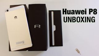 Huawei P8 unboxing and first impressions - Champagne Gold edition