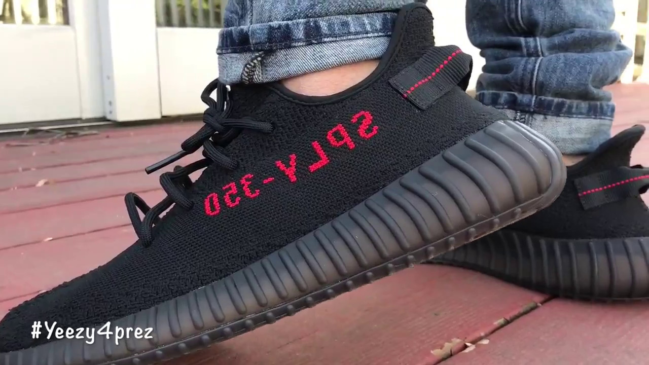 Best Adidas 'bred' ru - Sneakersnet Youtube Ua Foot Quality On 350 V2 Yeezy