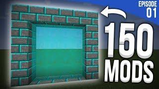 UNE NOUVELLE DIMENSION ET 150 MODS ! | Minecraft Moddé S4 | Episode 1