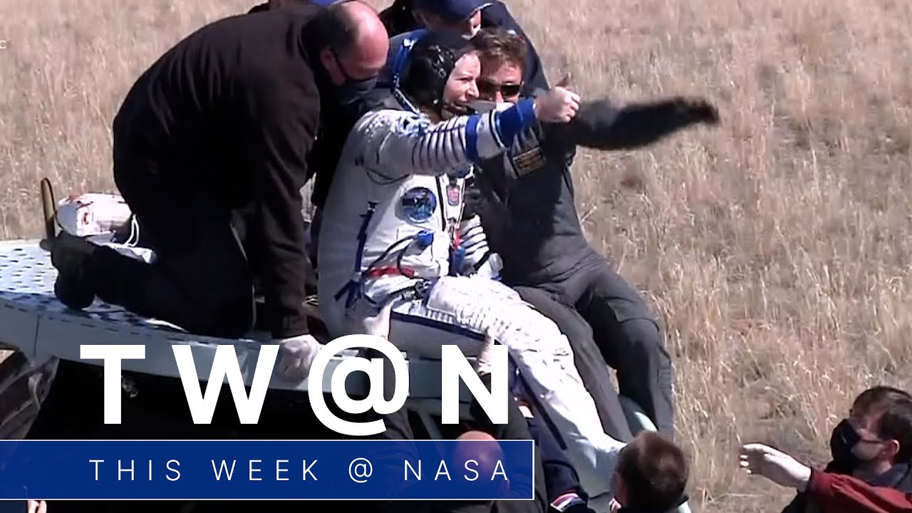 Safe Return to Earth from the Space Station on This Week @NASA – April 17, 2021 - NASA