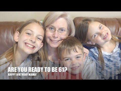 ARE YOU READY TO BE 61! HAPPY BIRTHDAY MAMA!! |