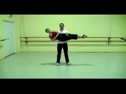 The charleston flip | swing dance aerial breakdowns (lesson 6.