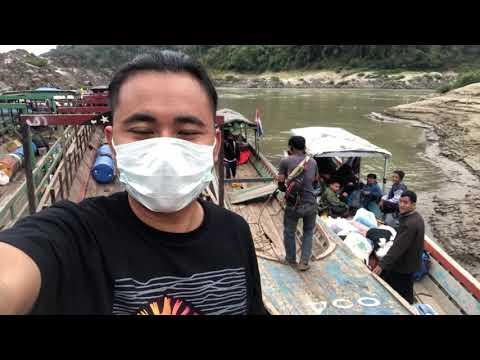 Karen Video 2018 ( Salween River - Thaw Laeh Hta ) Boat Station