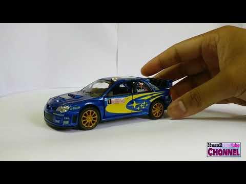 Musaz Hobby : Subaru Impreza STI WRC 2007 By KinsMart