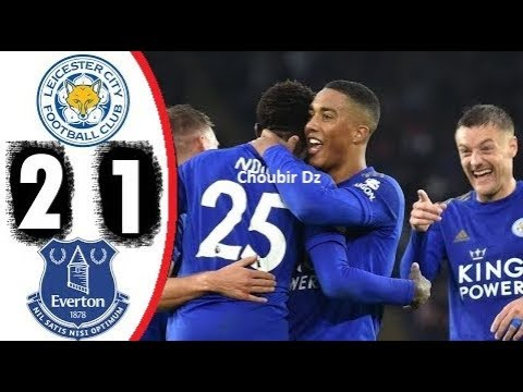 Leicester City Vs Everton 2-1 Premier League 01/12/2019