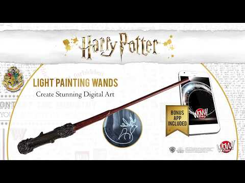 Harry Potter - Light Painting Wands from Wow! Stuff