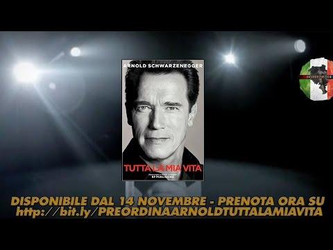 Scopri la storia di Arnold Schwarzenegger con il suo nuovo libro in italiano