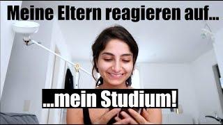Reaktion meiner ELTERN auf mein STUDIUM! | IschtarsLife