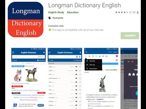 Longman Dictionary Of Contemporary English  Free #LDOCE