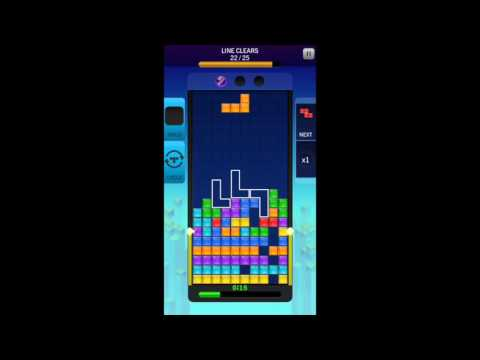 Tetris Blitz- compleating challenges