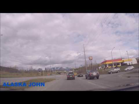 ALASKA DRIVING – To/From Thai Orchid Restaurant – May 9th 2017