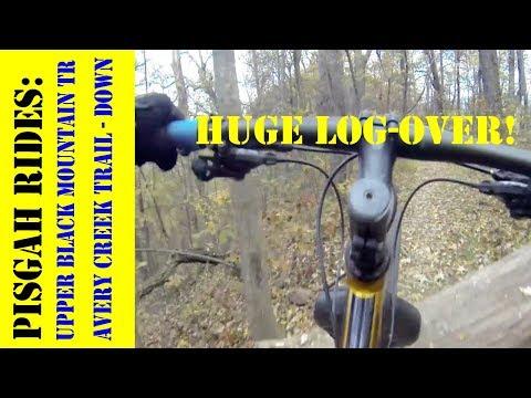 Upper Black Mountain Trail - DH to Avery Creek Trail - Pisgah North Carolina