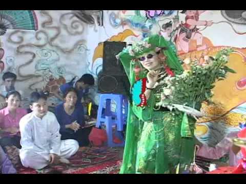 Đồng thầy: Khất Thị Mai - Hầu Gía chúa bói nguyệt hồ
