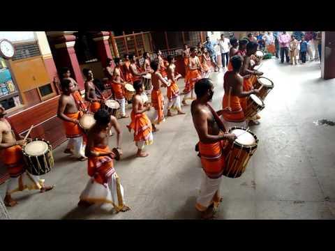 Chende team in kateel temple