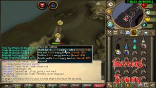 RuneScape Team Huggers PK Video 2 ~ Pure Hybriding