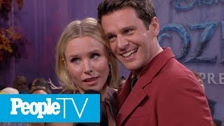 Gambar cover Kristen Bell On How Husband Dax Is Like Her 'Frozen' Husband Kristoff | PeopleTV