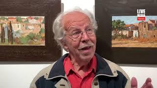Ο ζωγράφος Γιώργος Δρίζος στη γκαλερί Αργώ