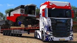 Копим на SCANIA  [ETS 2 MP]// Euro Truck Simulator 2.  #18 (руль logitech g29)