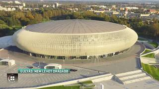 Gulyás: nem lehet drágább 100 milliárd forintnál az új sportcsarnok 19-08-24