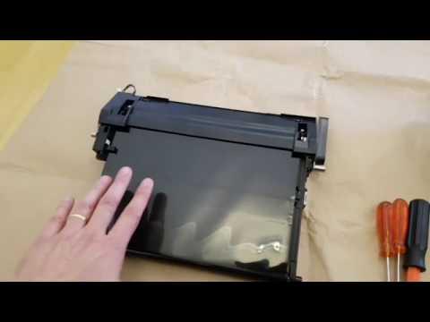 Como Trocar/substituir O Transfer Belt De Uma Impressora Samsung CLX-3185