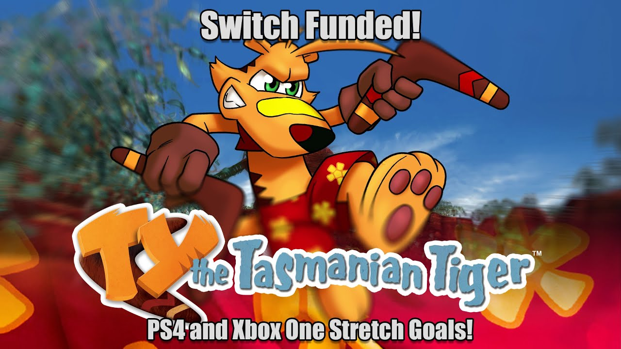 TY the Tasmanian Tiger for Switch, PS4 & Xbox One