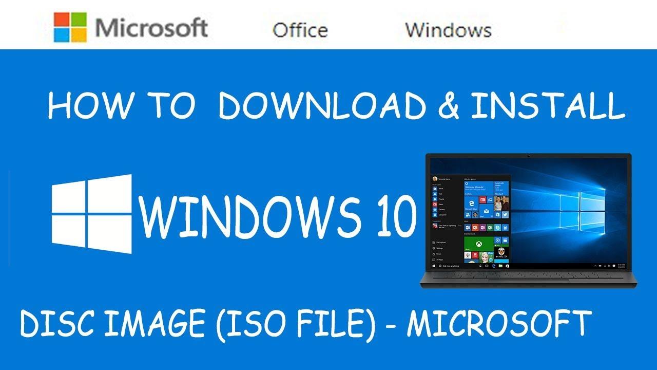 download microsoft 10 iso file