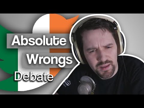 Is anything too wrong to discuss? - Debate with Twitter user