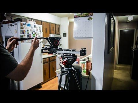!Camera movement! Shooting through a wall