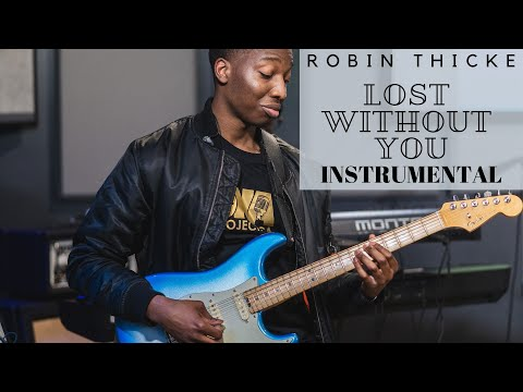 Robin Thicke Lost without you Instrumental