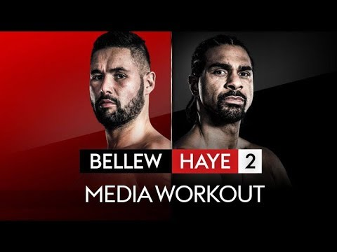 LIVE! TONY BELLEW & DAVID HAYE PUBLIC WORKOUT!  👊
