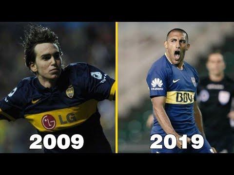 El primer gol de BOCA JUNIORS en cada año (2009-2019)