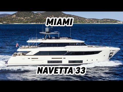 Navetta 33 METROS/Custom Line - Miami - Boat Evento