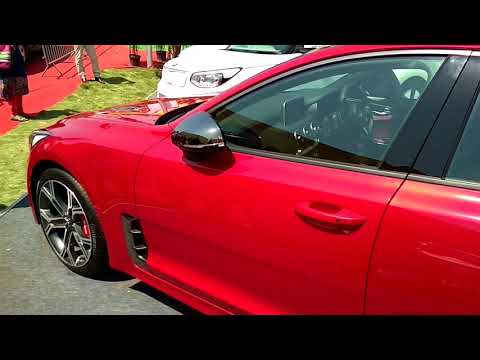 "KIA MOTORS ""STINGER""GT CAR EXIHIBITION 