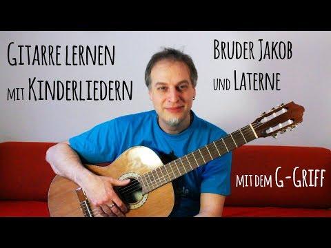 Gitarre lernen mit Kinderliedern - Folge1 - Akkord G-Dur mit
