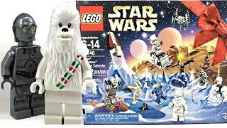 LEGO Star Wars Advent Calendar 2016 review and unboxing! 75146!