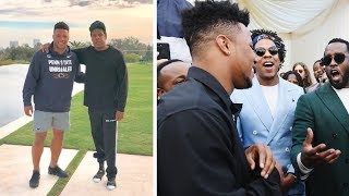 Saquon Barkley Takes Up For Jay Z Deal With NFL #NFL #JayZ