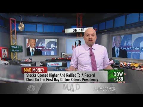 Jim Cramer: Preparing the portfolio for the Biden era -