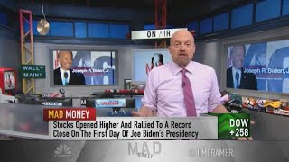 Jim Cramer: Preparing the portfolio for the Joe Biden era