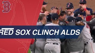 Red Sox hold on in 9th vs. Yankees to advance to ALCS