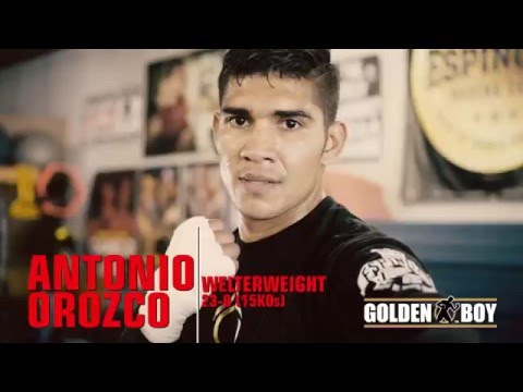 Golden Boy Boxing News: Antonio Orozco Interview