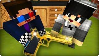 Дети нашли настоящий пистолет [ЧАСТЬ 1] Жизнь в большом городе в Майнкрафт! - (Minecraft - Сериал)