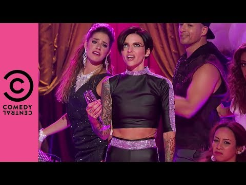 """Ruby Rose Performs Pink's """"Raise Your Glass""""   Lip Sync Battle"""