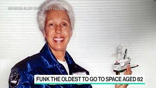 Wally Funk Chosen for Blue Origin Space Flight